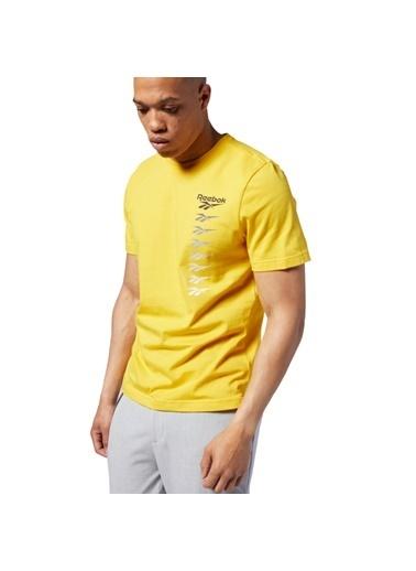 Reebok Cl V P Sarı Erkek T-Shırt Sarı